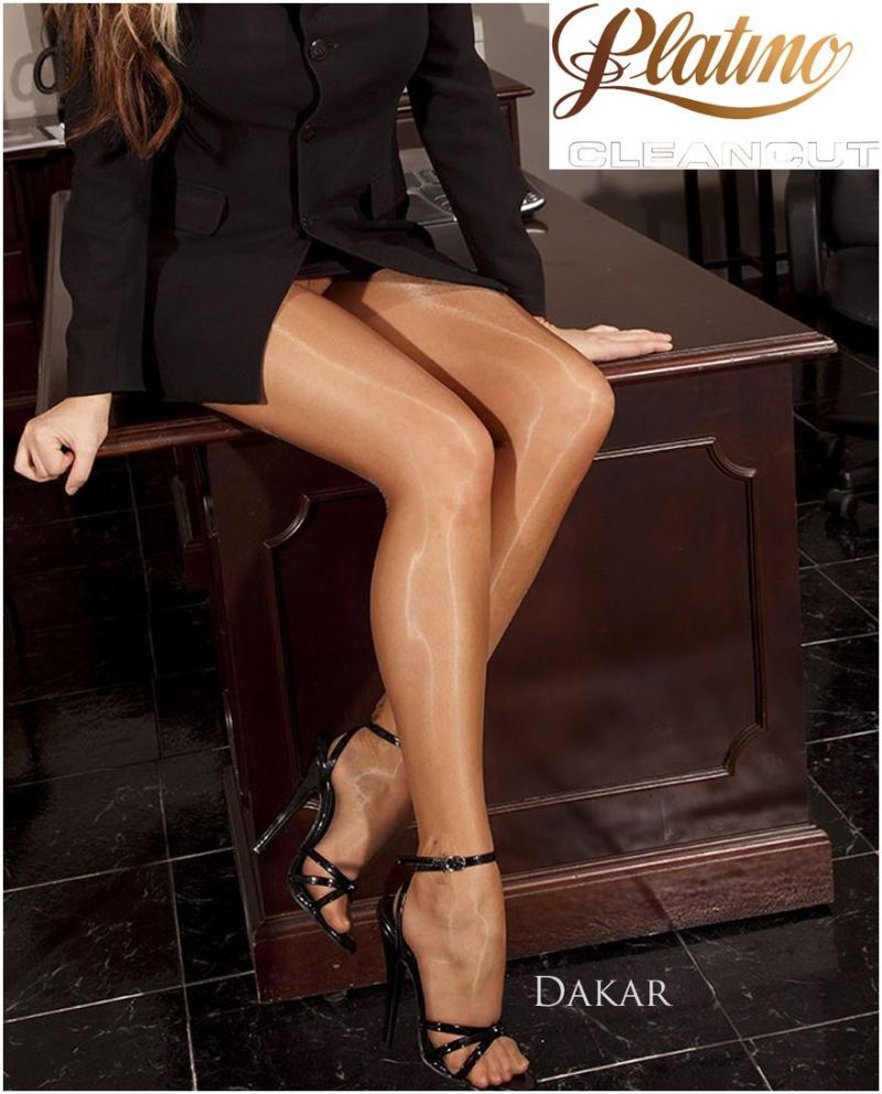 PLATINO Cleancut 15d Gloss Pantyhose / Tights